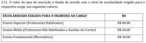 taxa-inscricao-concurso-bandeirante-sc-2017
