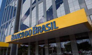 Fachada de uma agência do Banco do Brasil